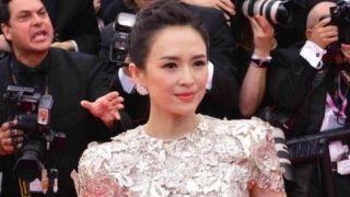 章子怡亮相第72届戛纳电影节红毯