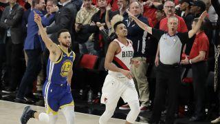 库里格林携手创历史 勇士横扫开拓者晋级NBA总决赛