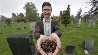 华盛顿州开先河,允许人类遗体转成化肥