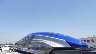 时速600公里!中国高速磁浮试验样车在青岛下线