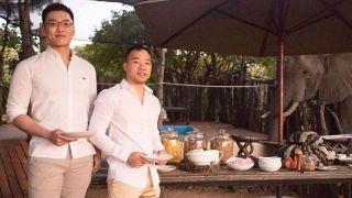 新加坡国父李光耀之孙与其男友在南非结婚