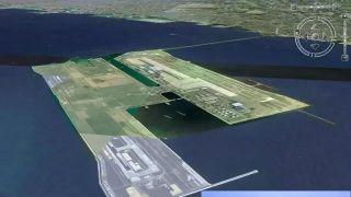 填海造陆新纪录 大连金州湾新机场耗资¥265亿打造全球最大海上机场
