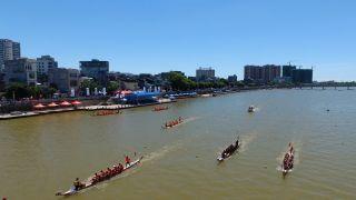 端午邻近 中国龙舟公开赛登场