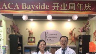 美国针灸药物集团贝赛周年庆中专家免费义诊献爱心