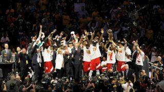 猛龙总决赛4比2金州勇士!队史首夺NBA总冠军