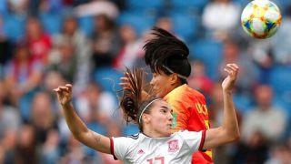 小组末战0:0逼平西班牙 中国女足跻身世界杯16强