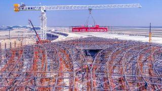 一道玻璃幕墙长6公里!上海浦东机场这个钢结构工程获行业最高奖