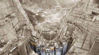 世界在建第二大水电站 中国西南巨型水利工程实拍