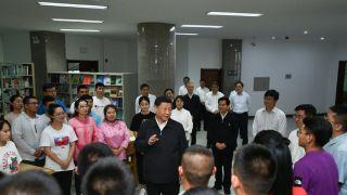 习近平考察内蒙古大学、自然资源厅