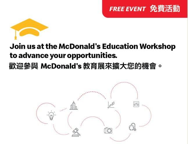 麦当劳为全国学生和家庭提供资源 帮助他们了解申学流程_图1-1