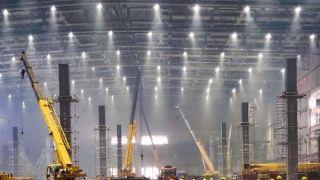 """上海国家会展中心""""加层""""改建 为第二届进博会扩容"""