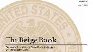 联储褐皮书:贸易不确定性仍有影响 经济前景总体乐观