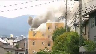 日本京都动画工作室大火致24人死亡、数十人受伤