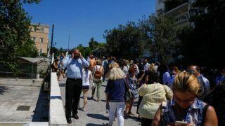 希腊雅典附近发生地震 震感遍及全国(图)