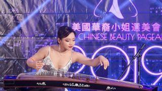 美国华裔小姐才艺大赛三强诞生