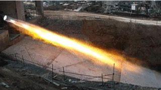 中国火箭民企80吨液氧甲烷发动机100%推力试车成功