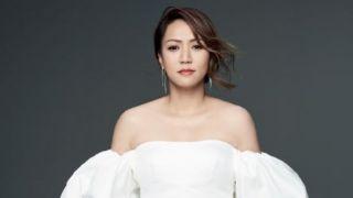 香港著名歌星黎瑞恩亮相美国华裔小姐总决赛