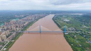 四川南溪仙源长江大桥 终结居民摆渡过江历史