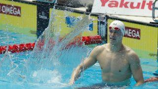 孙杨800米自由泳第六 遗憾无缘奖牌