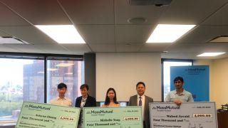 MassMutual Greater Hudson祝贺其2019年奖学金获奖者