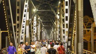 """百年""""老江桥""""成哈尔滨旅游""""新名片"""""""
