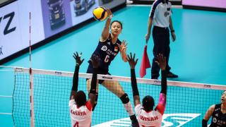 八连胜!中国女排3-0肯尼亚 领跑世界杯