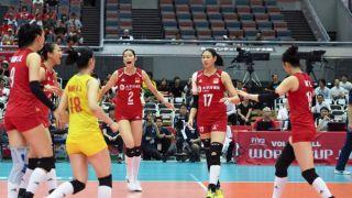 11连胜!中国女排不败战绩卫冕世界杯 习近平致电祝贺