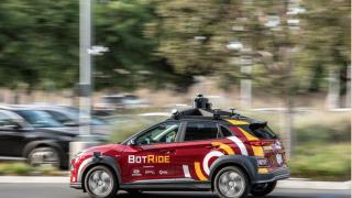 现代汽车自动驾驶汽车正式在加州尔湾上路