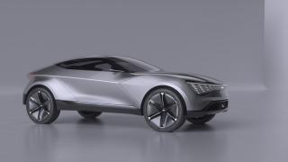 KIA Futuron 概念车为电动SUV提供启发性新设计