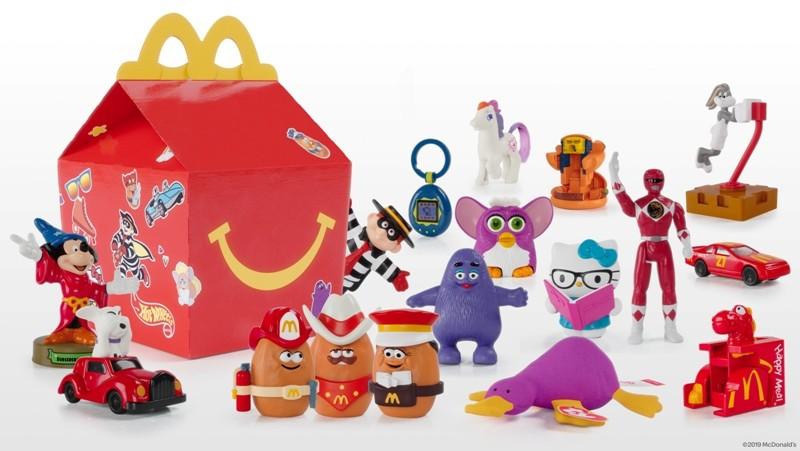 麦当劳限时推出惊喜快乐儿童餐  重温过去40年经典玩具旧梦_图1-1