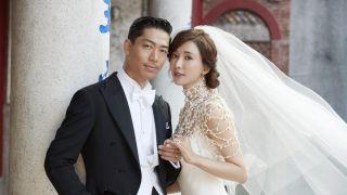 林志玲大婚:与新郎甜蜜热吻,幸福落泪