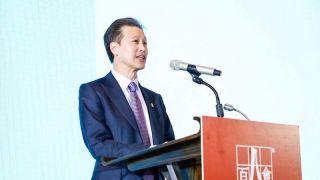 华美银行董事长吴建民应邀出席百人会2019大中华年会