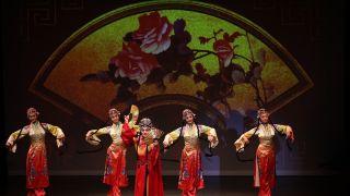大型舞蹈诗画《国色》绽放美东高校