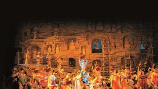 中国文化的灿烂 敦煌艺术的绝美 舞剧《大梦敦煌》林肯中心首演