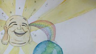 """佛光山第13届""""幸福乐""""儿童征画活动,期盼世界更美好"""