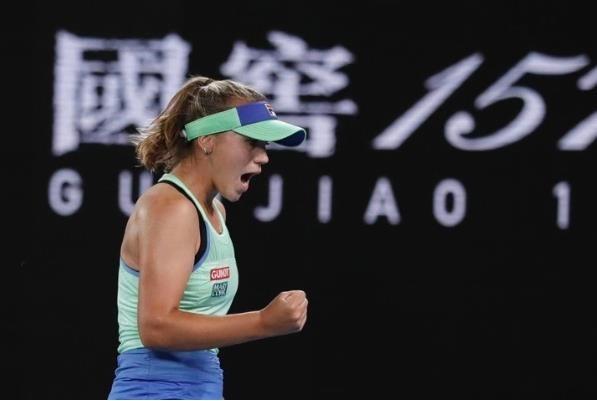 一黑到底!21岁美国新星肯宁澳网女单夺冠_图1-1
