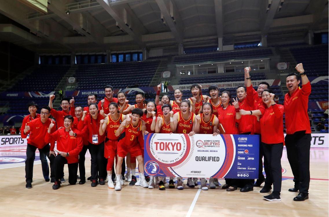 中国女篮击败西班牙队 两连胜提前收获奥运席位_图1-1