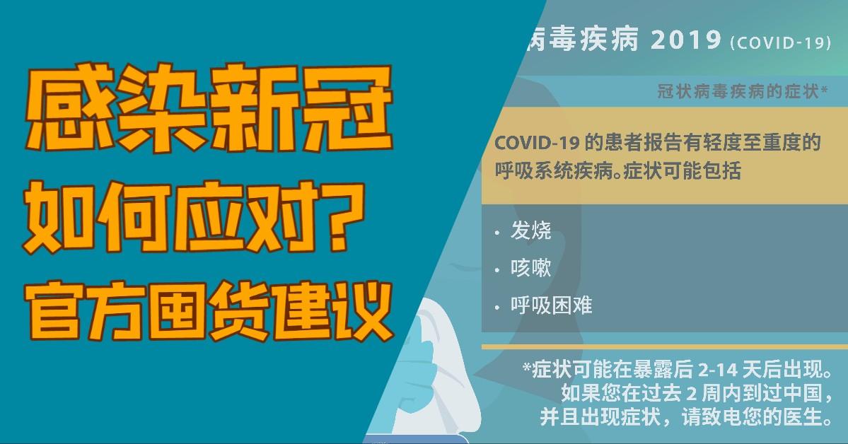 如果感染新冠病毒该做些什么?国土安全部官方囤货建议!_图1-1