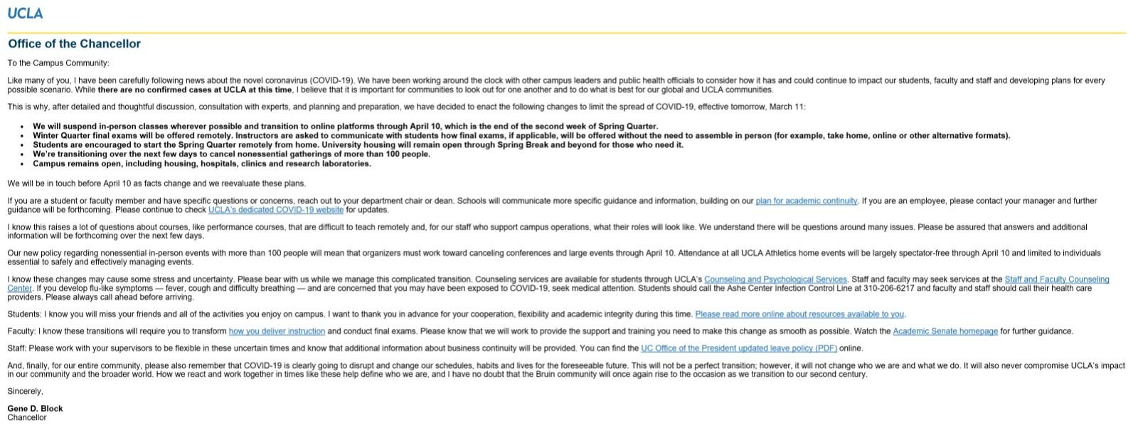 UCLA、USC 周三起停课改为网上授课_图1-4