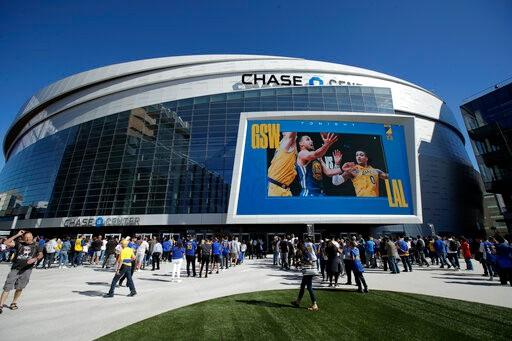 NCAA宣布 疯狂三月 空场 NBA勇士队主场空场_图1-1
