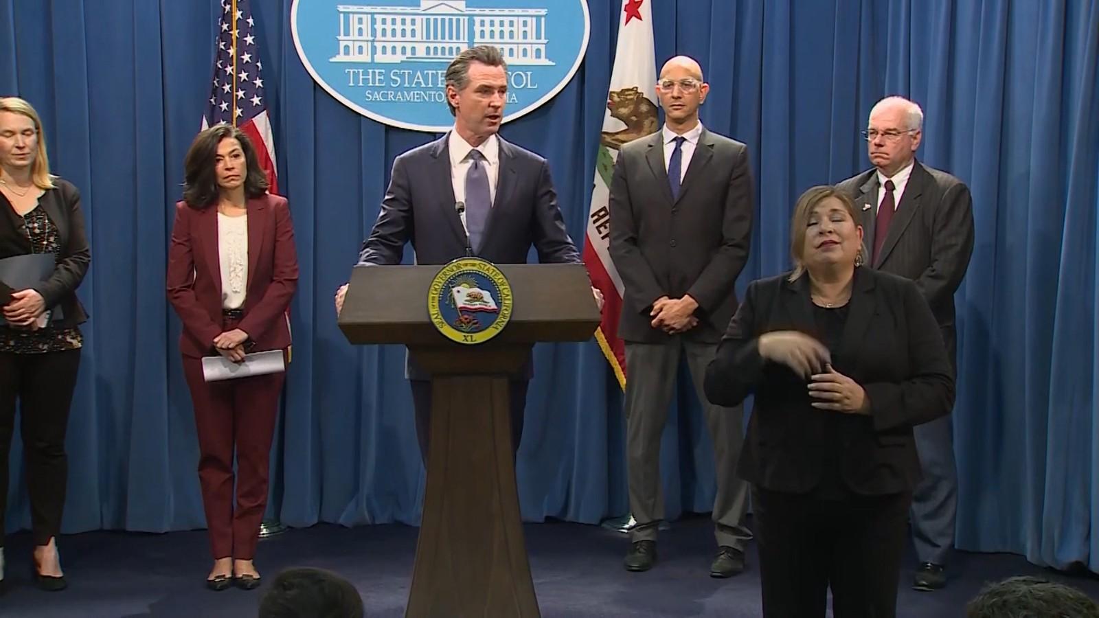 4人死亡198例确诊 纽森通报加州最新疫情_图1-2