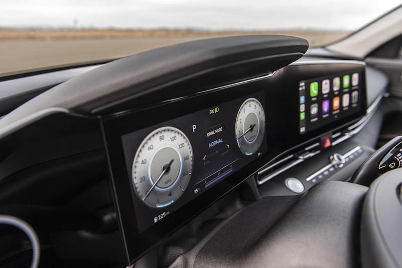 全新2021现代Elantra与Elantra Hybrid隆重登场_图1-4