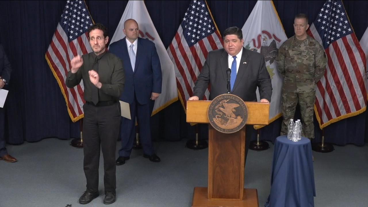 伊州长:不反对戴口罩 有证据表明它有效_图1-5