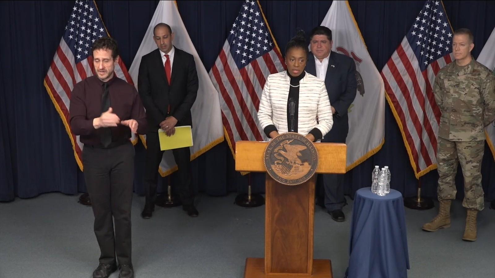 伊州长:不反对戴口罩 有证据表明它有效_图1-2
