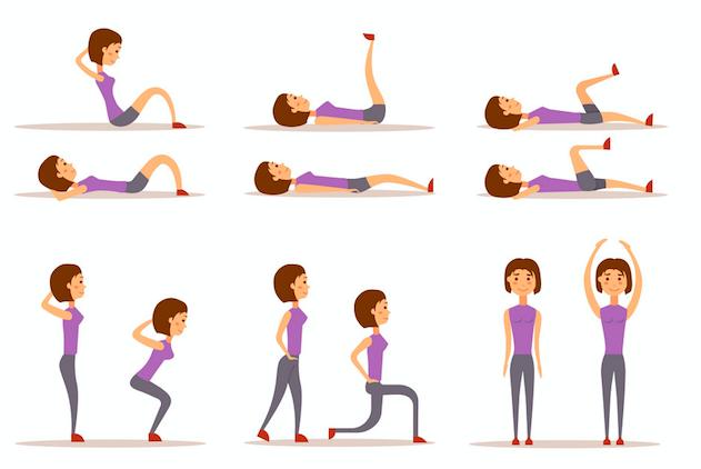 【宅家运动指南】多久没运动了?分享宅家锻炼小贴士