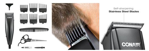 【宅家抗疫指南】畅销家庭用理发套装 轻松易学居家必备_图1-8