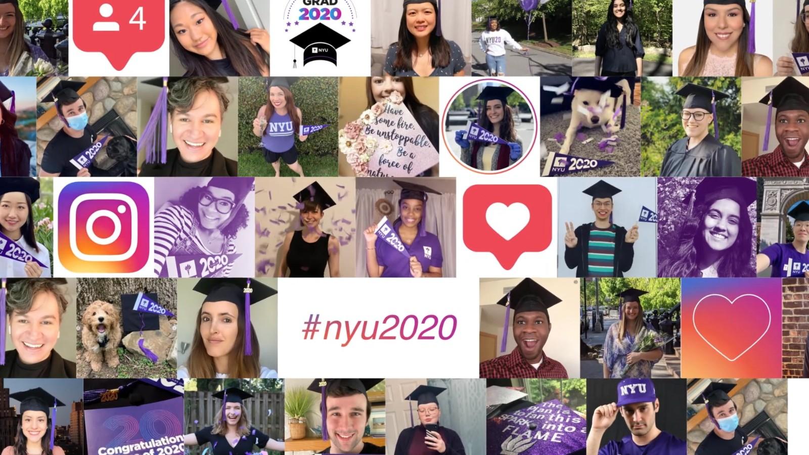 多图带你看纽约大学网上毕业典礼