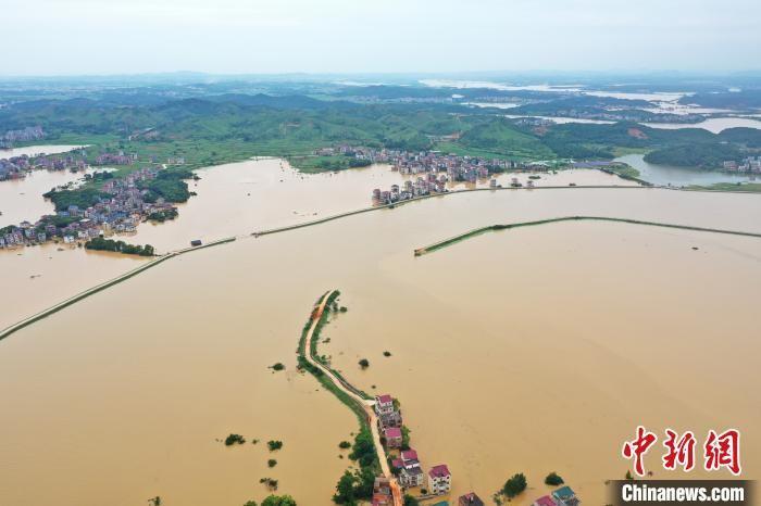 江西启动I级响应 鄱阳湖预计将发生流域性大洪水