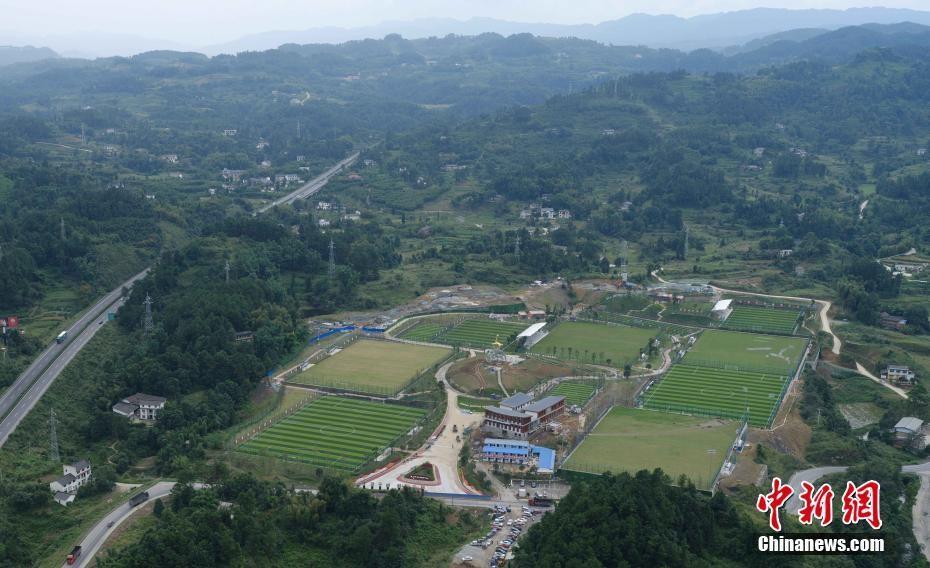 中国西南最大规模足球竞训基地一期建设即将完工