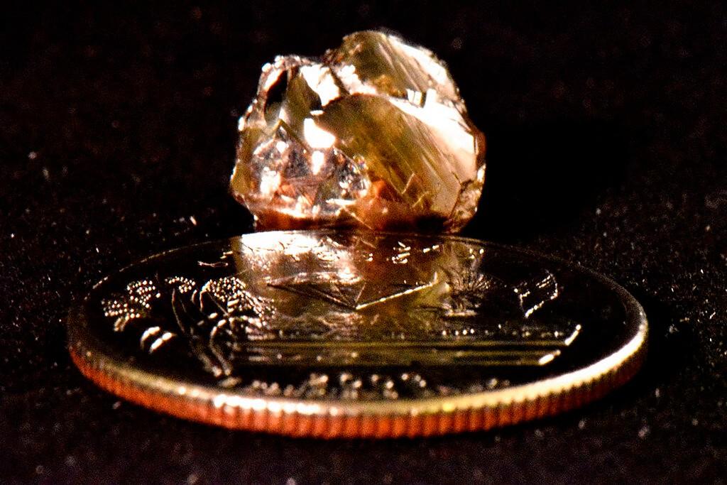 男子阿肯色公园挖出9.07克拉大钻石 差点当成玻璃(图)